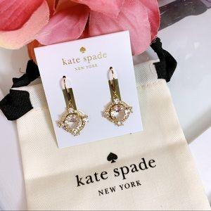 Kate Spade Crystal Cascade Drop Earrings